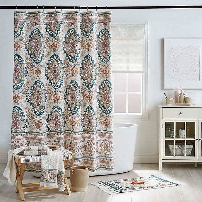 Alternate image 1 for Kilim Shower Curtain Collection
