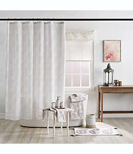 Cortina de baño de cachemira texturizada, 1.82 m en gris