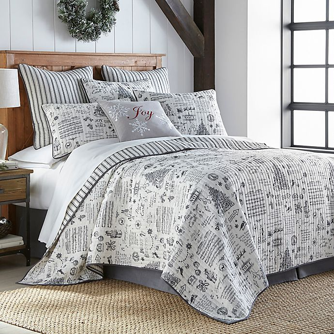 Levtex Home Ember Reversible 3 Piece Quilt Set Bed Bath Beyond