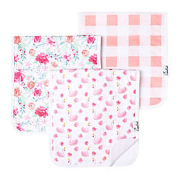 Copper Pearl 3-Pack June Burp Cloths