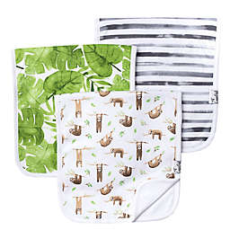 Copper Pearl Noah 3-Pack Burp Cloths