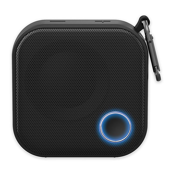 Alternate image 1 for Brookstone® Big Blue Portable Bluetooth® Go Speaker