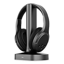Brookstone® Wireless TV Headphones in Black