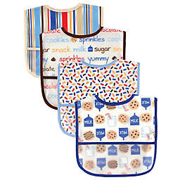 Luvable Friends® 4-Pack Waterproof Bibs