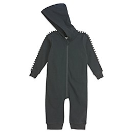 Sovereign Code® Checkered Trim Hooded Coverall in Black