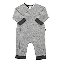 Kidding Around Knit Coverall in Grey