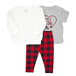 Mini Heroes™ 3-Piece Plaid Jacket, Top, and Pant Set