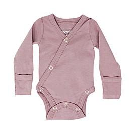 L'ovedbaby® Kimono Organic Cotton Bodysuit in Lavender