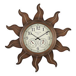 Sterling & Noble Sun Indoor/Outdoor Clock