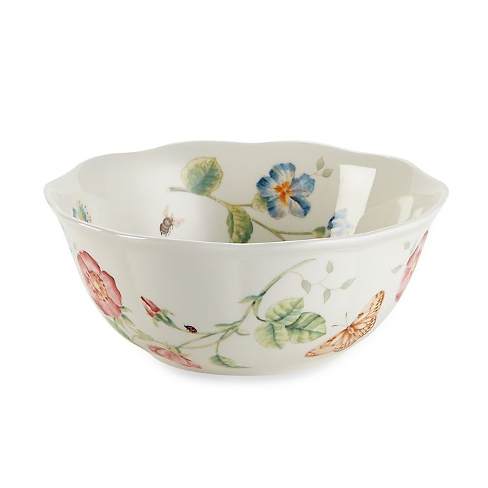 Alternate image 1 for Lenox® Butterfly Meadow® 6-3/4-Inch Large  All Purpose Bowl