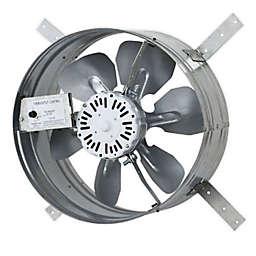 iliving® Gable Mount Attic Ventilator Fan with Adjustable Thermostat