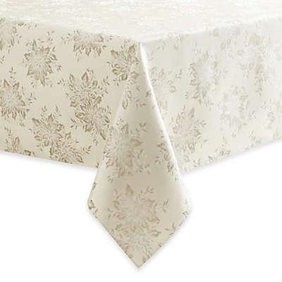 Winter Shine Tablecloth in Silver