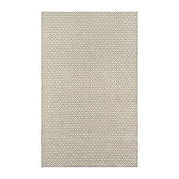 Erin Gates by Momeni® Newton 3'6 x 5'6 Handmade Outdoor Accent Rug in Green