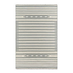 Erin Gates by Momeni® Thompson Billings 5' x 7'6 Handcrafted Area Rug in Grey
