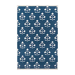 Erin Gates by Momeni Thompson Grove 5' x 7'6 Area Rug in Navy