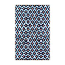 Erin Gates by Momeni® 5' x 7'6 Thompson Newbury Area Rug in Navy