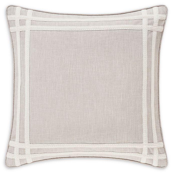 Alternate image 1 for J. Queen New York™ Lauralynn European Pillow Sham in Beige
