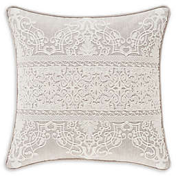 J. Queen New York™ Lauralynn Embroidered Throw Pillow in Beige