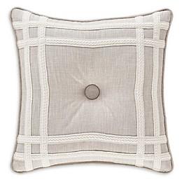 J. Queen New York™ Lauralynn Frame Throw Pillow in Beige