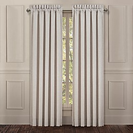 J. Queen New York™ Lauralynn 84-Inch Rod Pocket Window Curtain Panel Pair in Beige