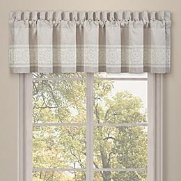 J. Queen New York™ Lauralynn Window Valance in Beige