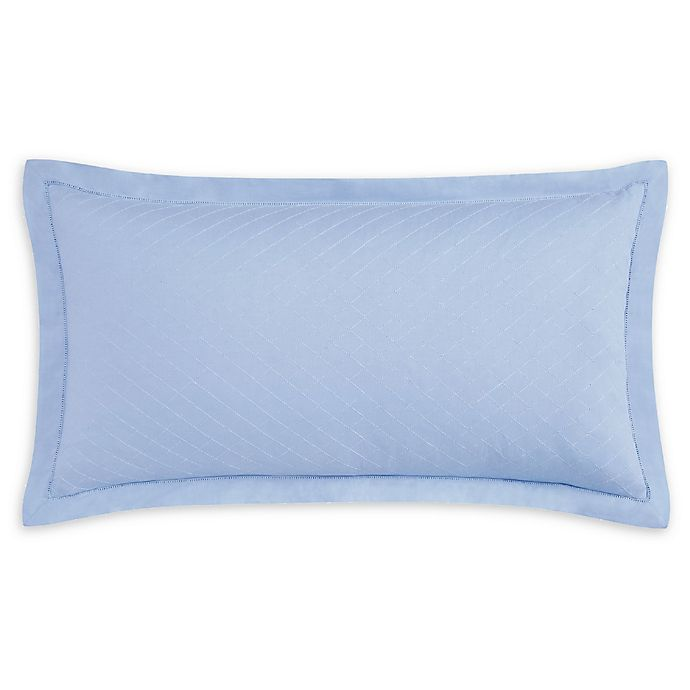 Alternate image 1 for Charisma® Settee Bolster Throw Pillow in Blue