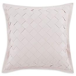 Charisma® Riva Lattice Square Throw Pillow in Blush