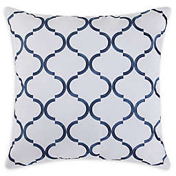 Fiesta® Villa Square Throw Pillow in Blue