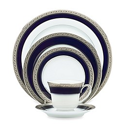 Noritake® Crestwood Cobalt Platinum Dinnerware Collection