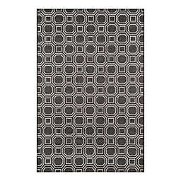 Erin Gates by Momeni® 2' x 6' Downeast Camden Runner in Charcoal