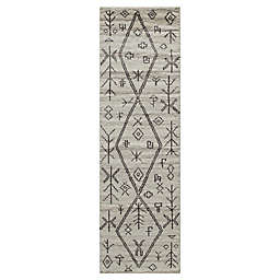 Momeni® 2'3 x 8' Atlas Moroccan Runner Rug in Natural