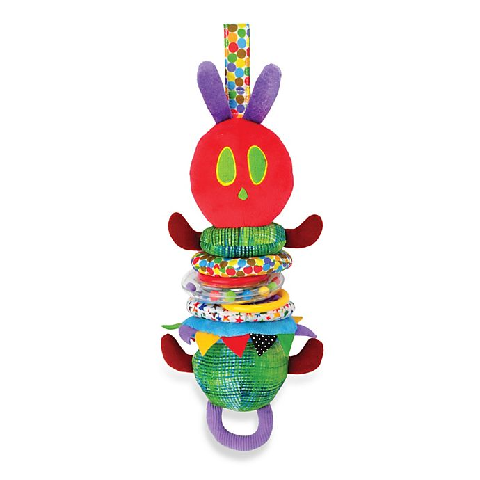 Alternate image 1 for Eric Carle™ Developmental Jiggle Caterpillar