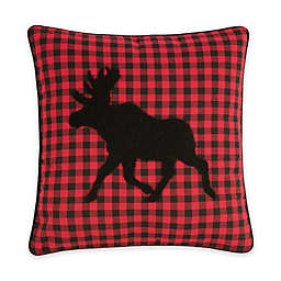 C & F Home™ Woodford Moose Embroidered Square Throw Pillow