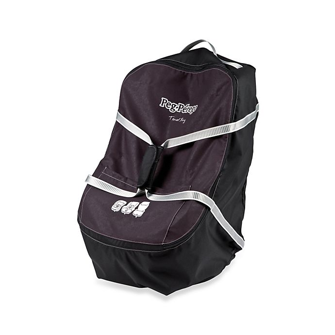 Alternate image 1 for Peg Perego Car Seat Travel Bag in Black