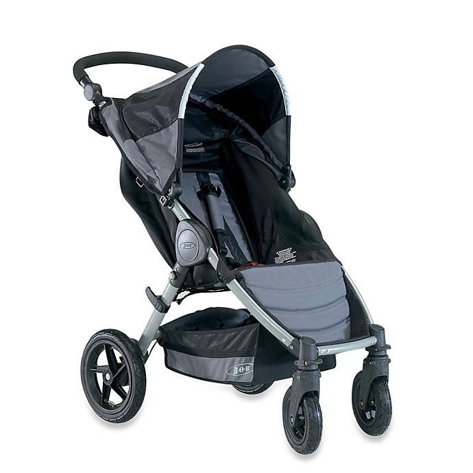 Alternate image 1 for BOB® Motion® Stroller 2013 in Black
