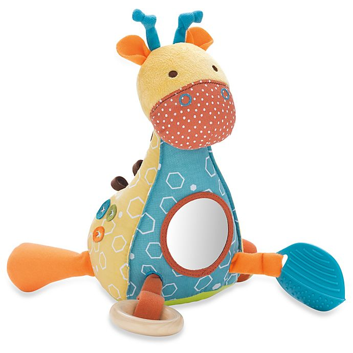 skip hop giraffe safari giraffe activity toy buybuy baby. Black Bedroom Furniture Sets. Home Design Ideas