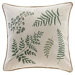 Bee & Willow™ Home Ferndale Square Throw Pillow in Beige