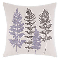 Bee & Willow™ Home Cortland Fern Square Throw Pillow in Grey