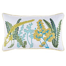Bee & Willow™ Home Flower Oblong Throw Pillow in Ivory