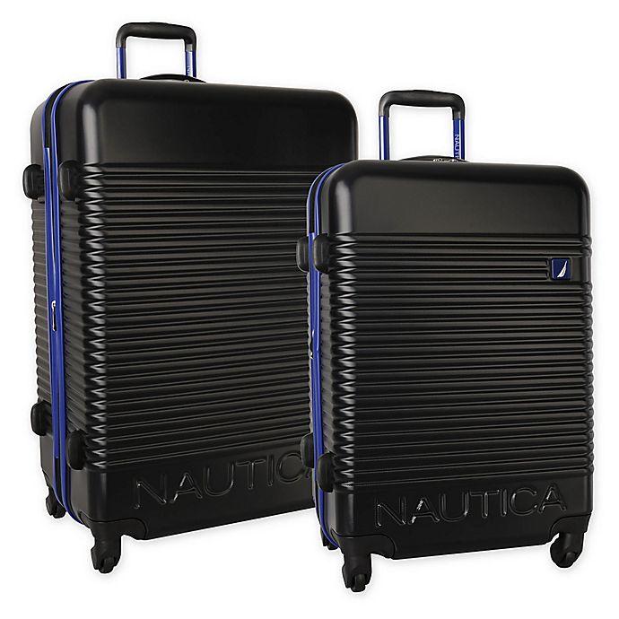 Alternate image 1 for Nautica® Sunset Hardside Spinner Checked Luggage
