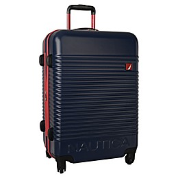 Nautica® Sunset Hardside Spinner Checked Luggage