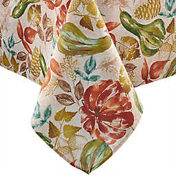 Elrene Home Fashions Gourd Gathering Tablecloth