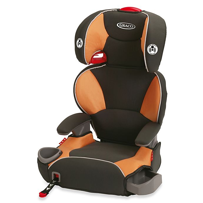 Alternate image 1 for Graco® AFFIX™ Highback Booster Seat in Tangerine