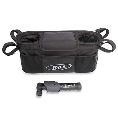 BOB® Single Stroller Handlebar Console with Mini Tire Pump