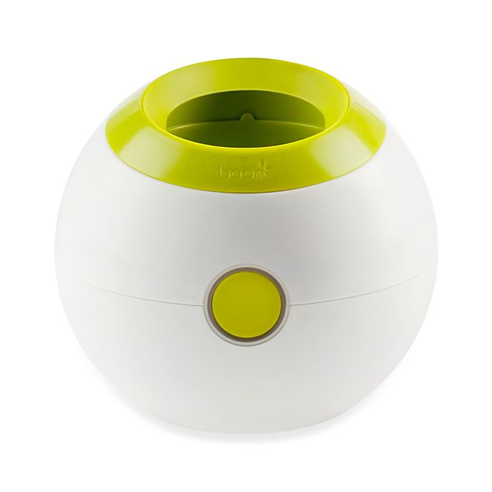 Alternate image 1 for Boon ORB Bottle Warmer in White/Green