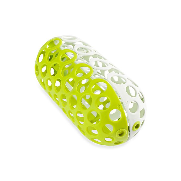 Alternate image 1 for Boon CLUTCH Dishwasher Basket in White/Green