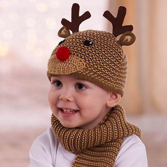 5939c97c405 Mud Pie® Knit Reindeer Hat