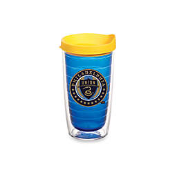Tervis® MLS® 16-Ounce Philadelphia Union Tumbler With Lid in Sapphire