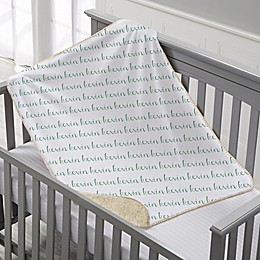 Playful Name Personalized 30-Inch x 40-Inch Sherpa Baby Blanket