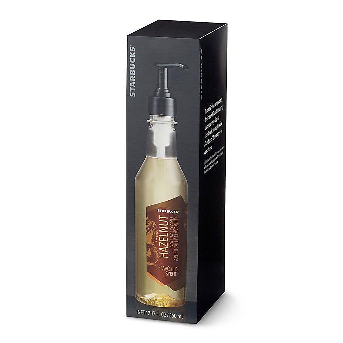 Alternate image 1 for Starbucks® Verismo™ 12 oz. Hazelnut Flavored Syrup